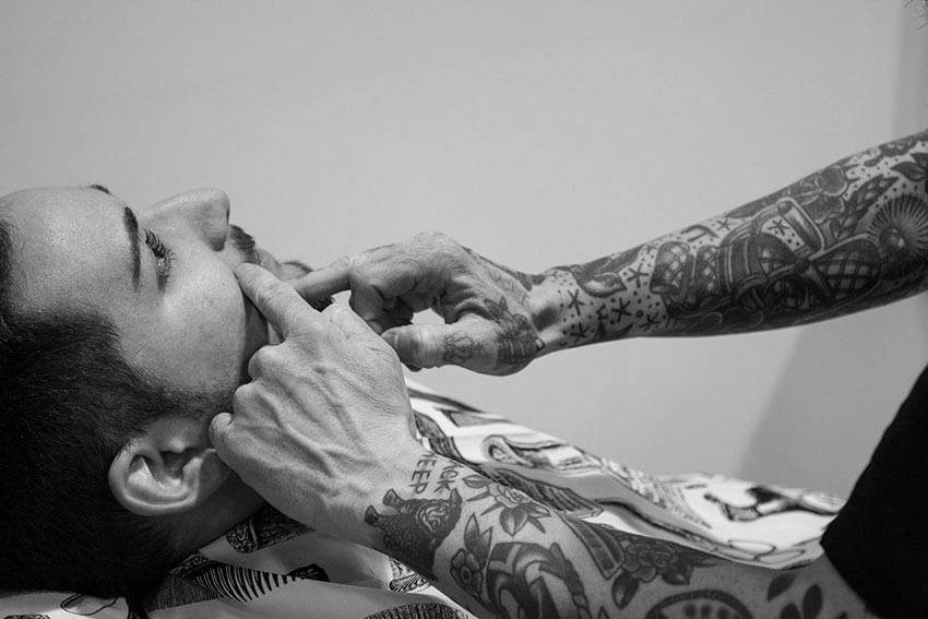 Tattoos de barbero