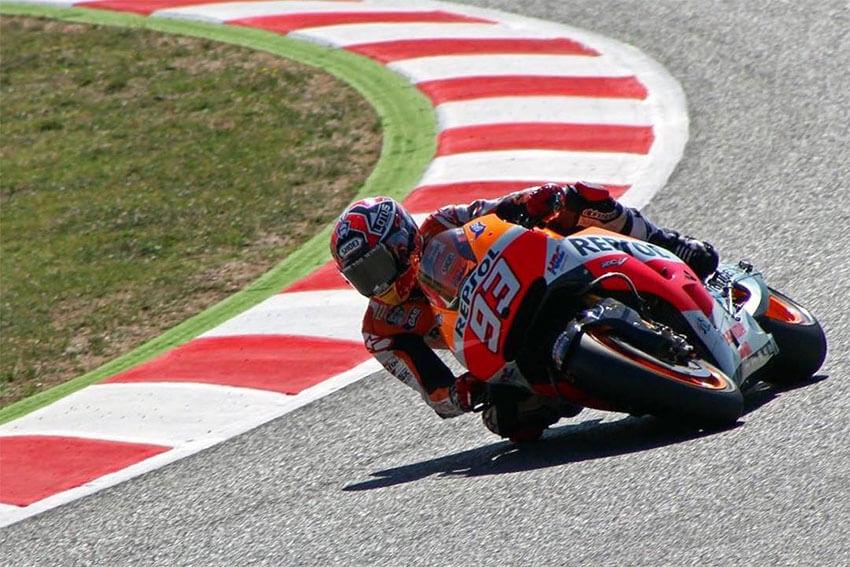 Competición de MotoGP en Montmeló