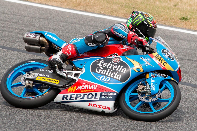 Competición Cev piloto Alonso Lopez