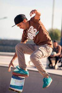 Rider street skate barcelona