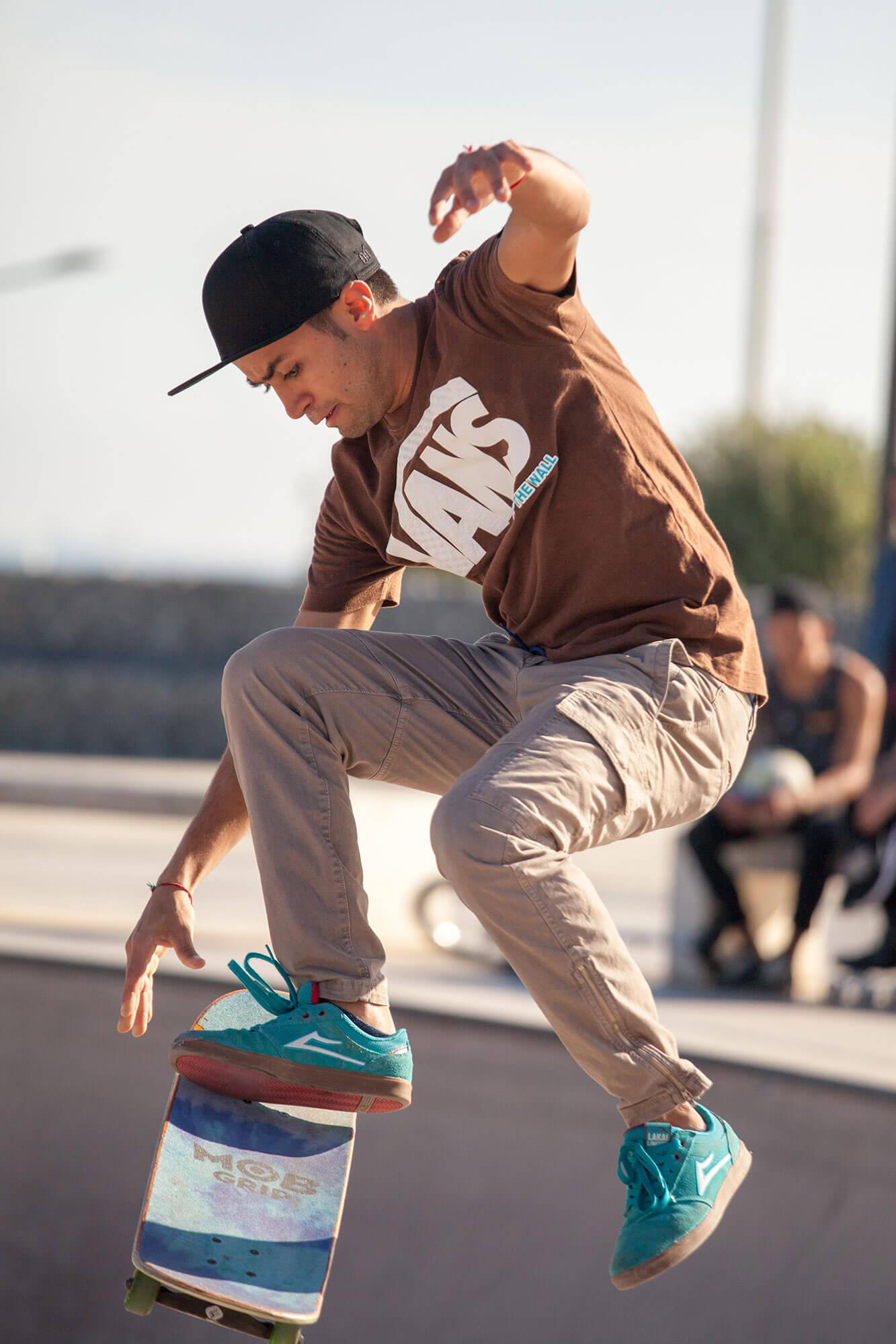 Rider street skate