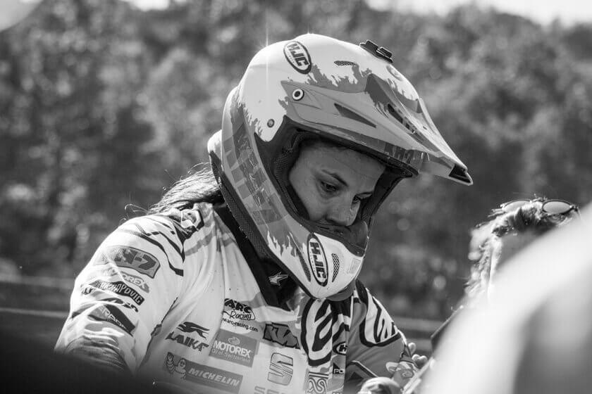 Laia Sanz enduro rider