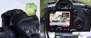 Cuadrícula visor cámara