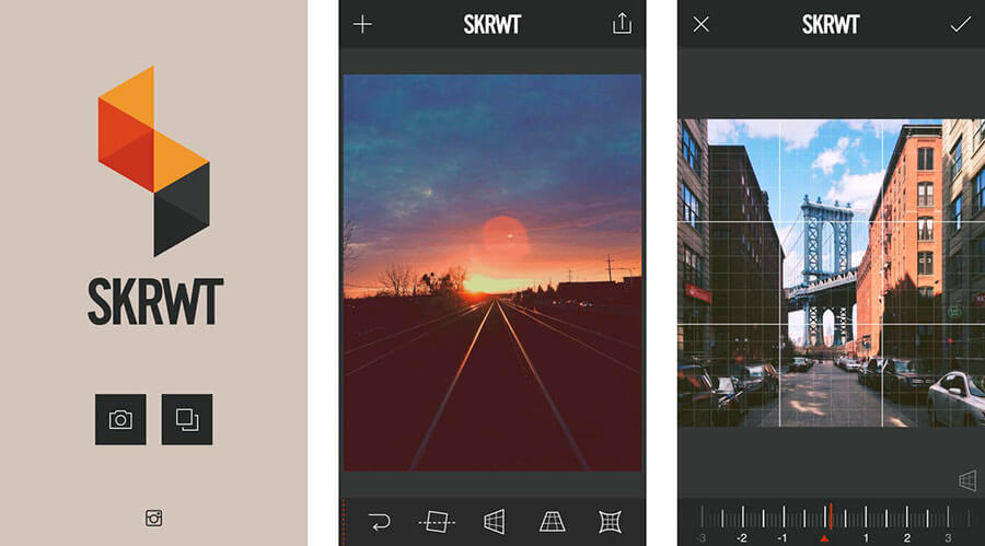 Aplicación de edición para Android