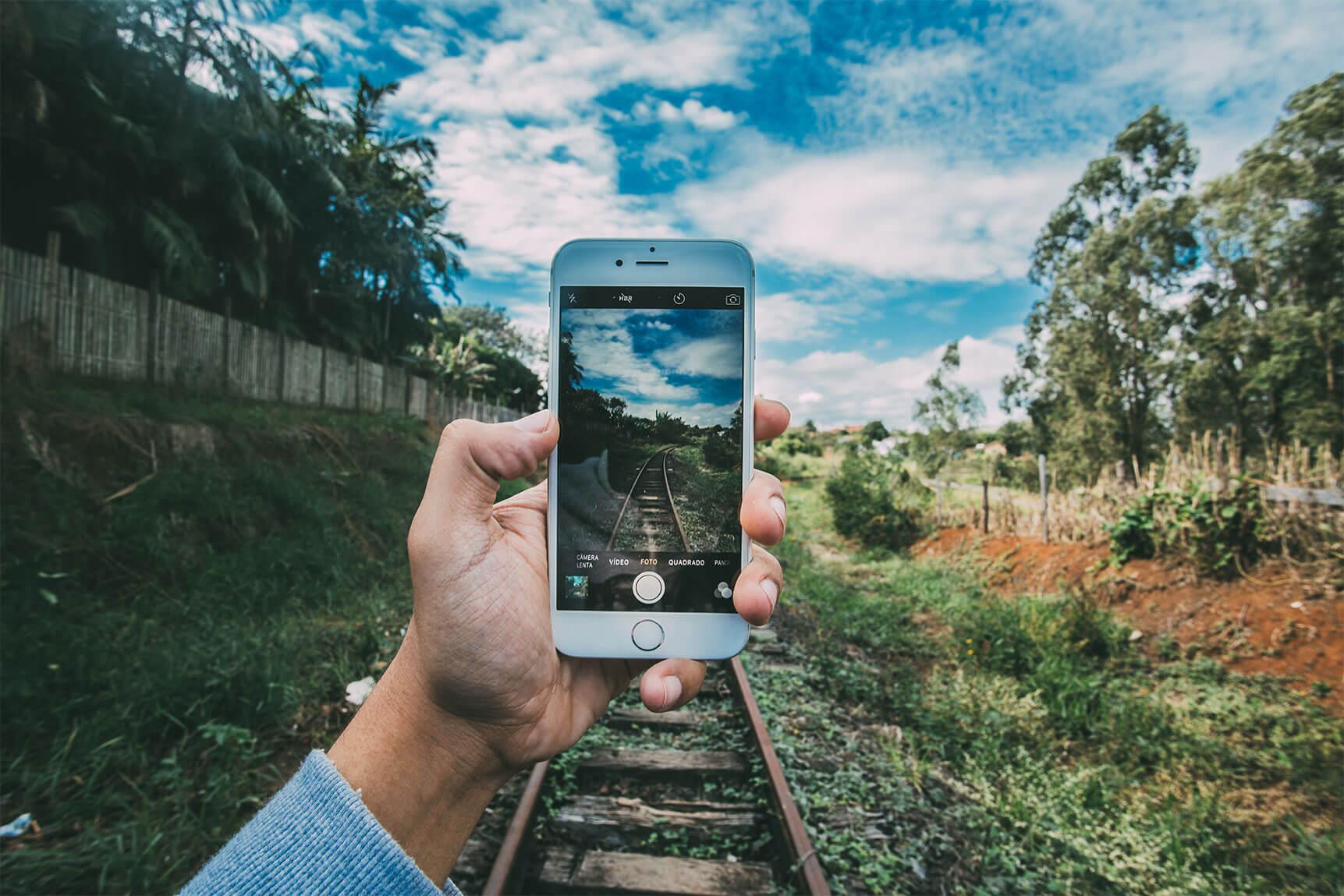 Fotografiando desde el móvil