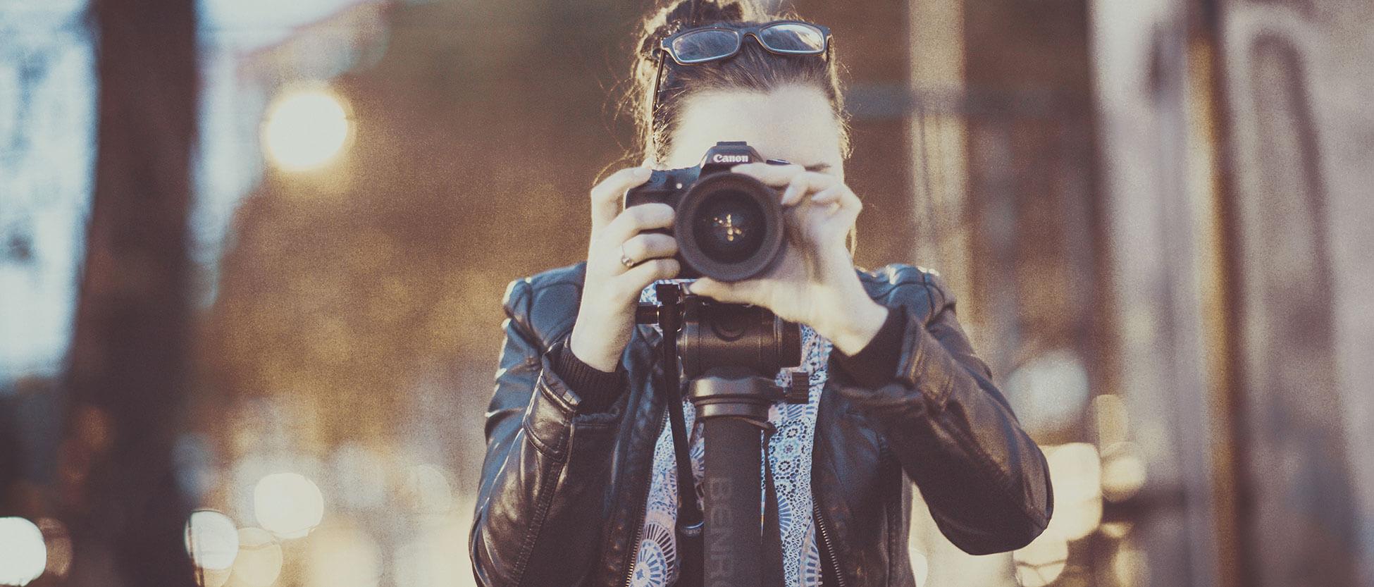 Fotografiando retratos de personas