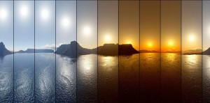 Fotografiar timelapse de paisajes