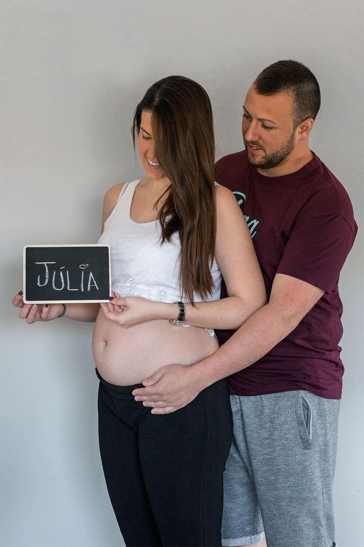 Fotografía de seguimiento de embarazo