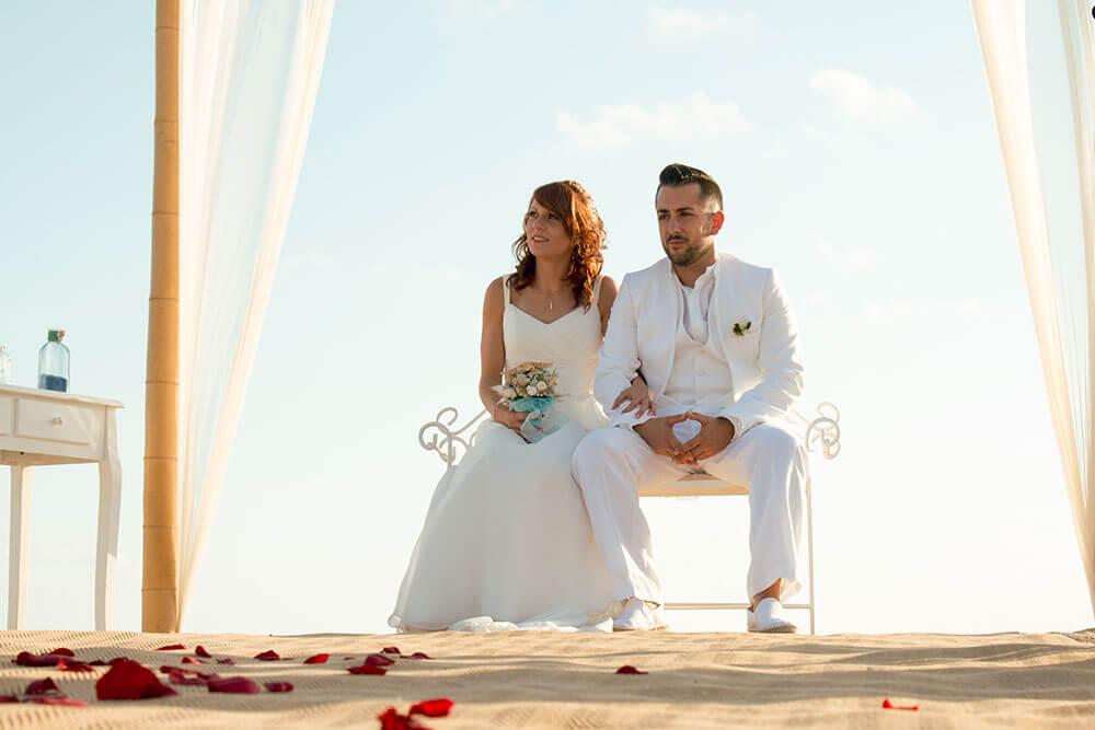 Fotografía en la ceremonia de una boda