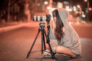 Disparos de cámara en canon