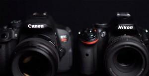 Fotografía Canon Nikon