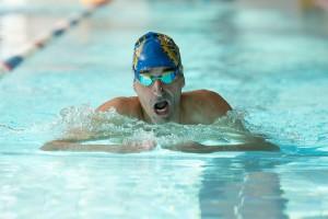 Nadador profesional Miguel Luque