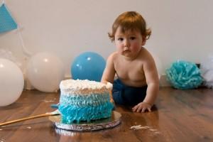Fotografía de aniversario bebé