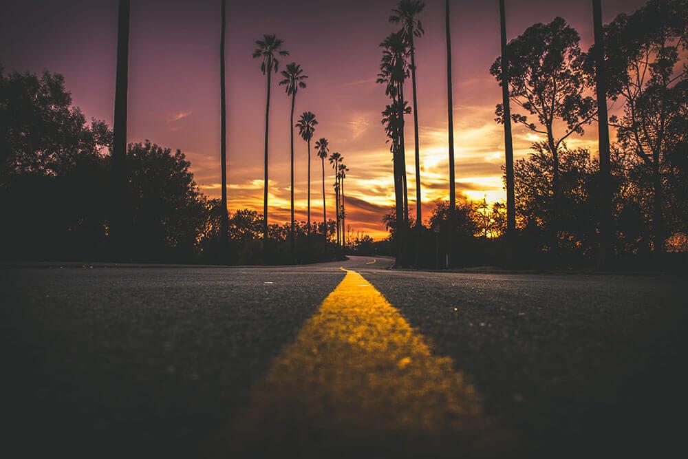 Fotografía puesta de sol