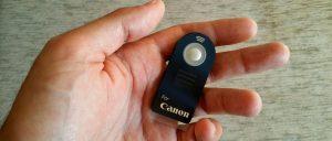 Disparador remoto fotografía