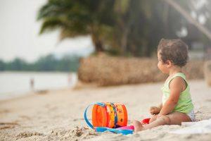 Sesión infantil en la playa