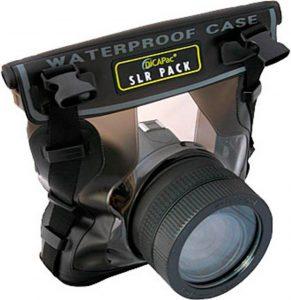 Funda impermeable para mojar la cámara