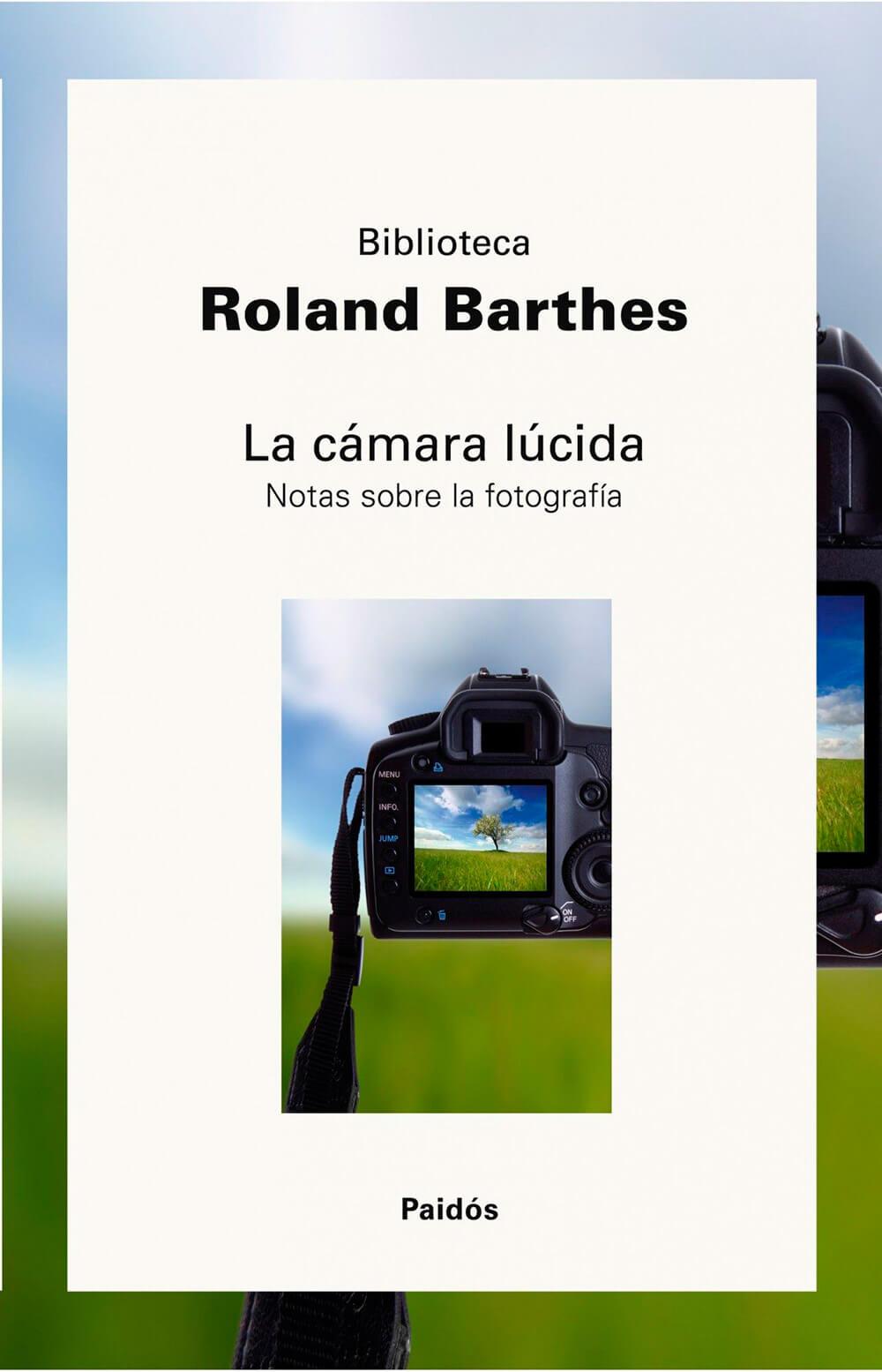 Libro la cámara lúcida de Roland Barthes