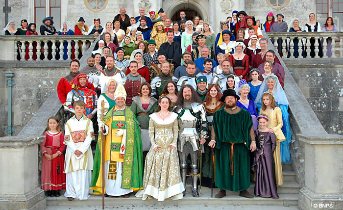 Fotografía boda medieval Granollers