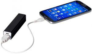 Batería externa para cargar el móvil