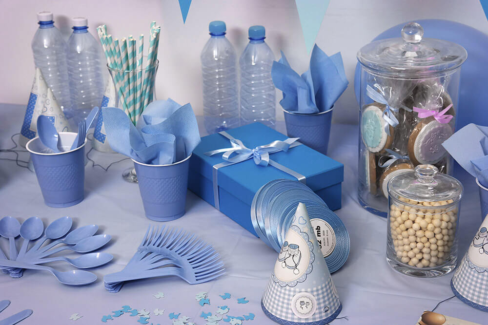 Decoración de una fiesta baby shower