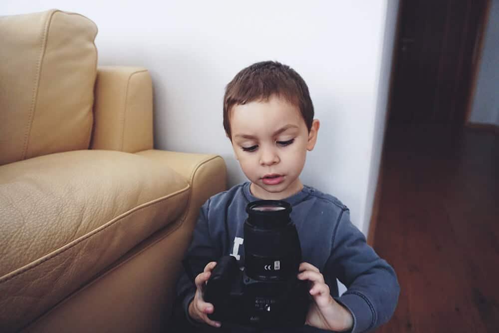 Cámara de selfies