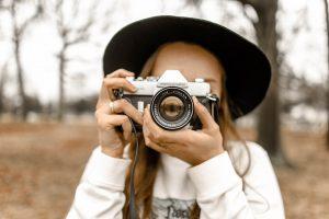 Fotografía con una cámara antigua