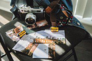 Fotografía de carrete con cámaras analógicas
