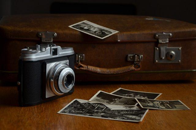 Fotografías analógica con carretes antiguos