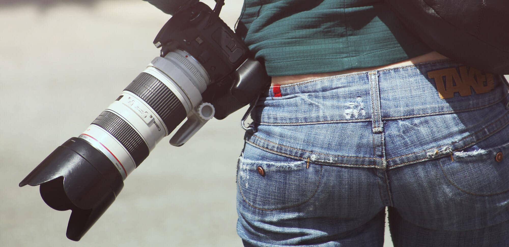 Fotografía con grip para tu cámara