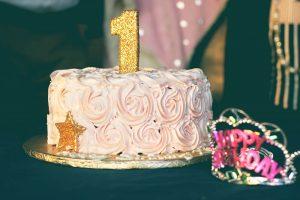 Pastel de smash cake en Granollers