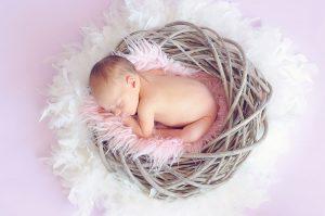 Resultado de la sesión fotográfica newborn a domicilio