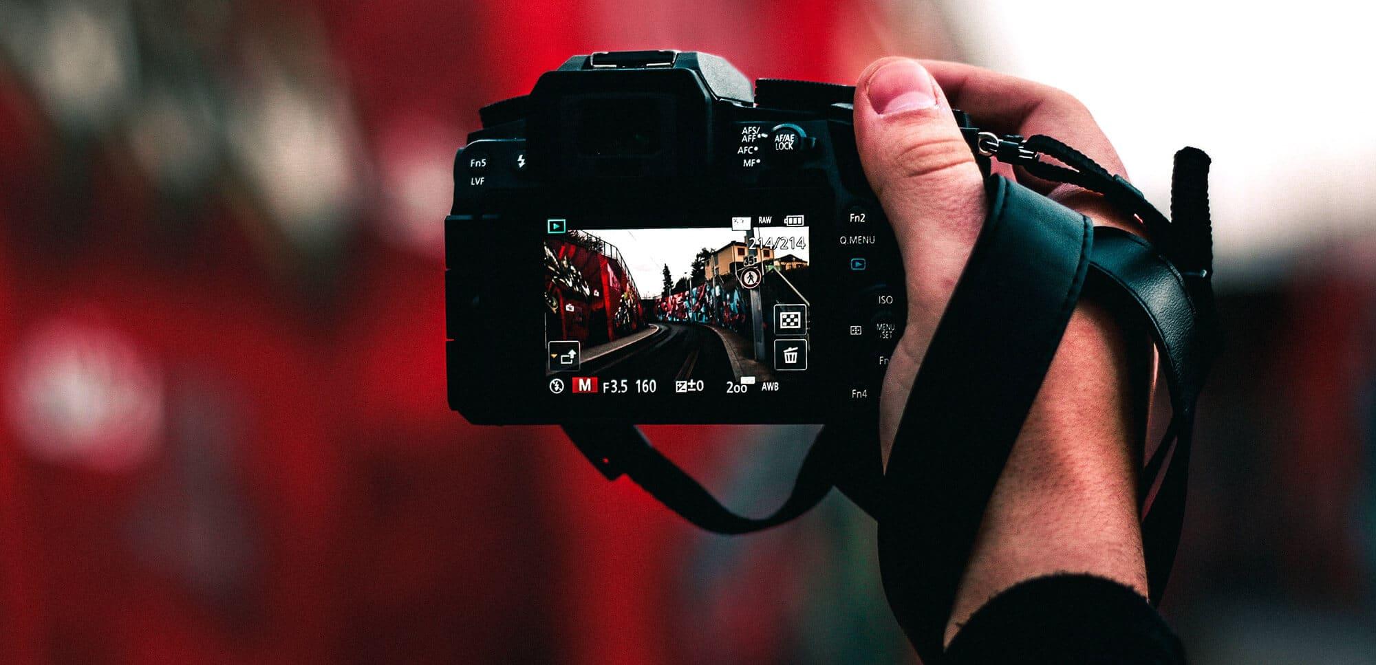 Batería de una cámara fotográfica