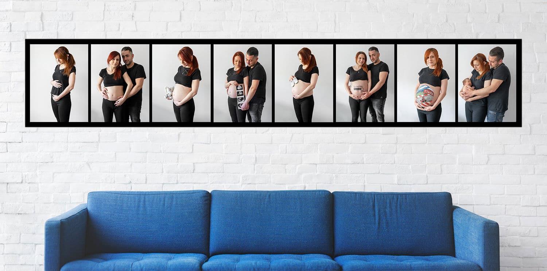 Seguimiento fotografía embarazo