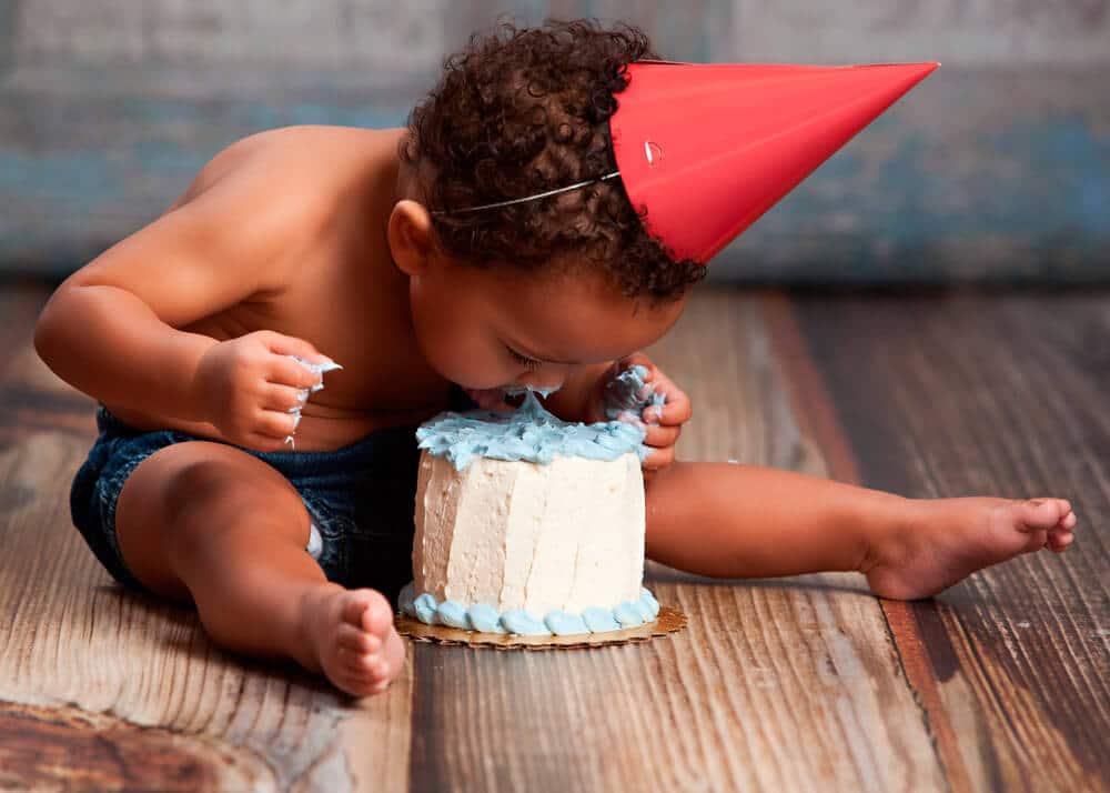 Reportaje fotográfico primer cumpleaños Granollers