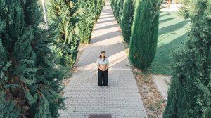 Sesión fotográfica de embarazo con drone