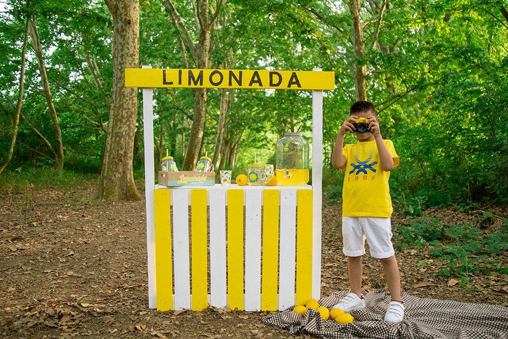 Sesion fotos en exterior limonada
