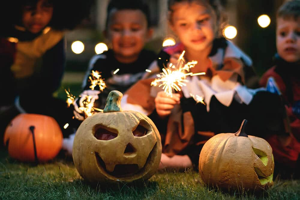 Sesión fotográfica de halloween divertida en Granollers