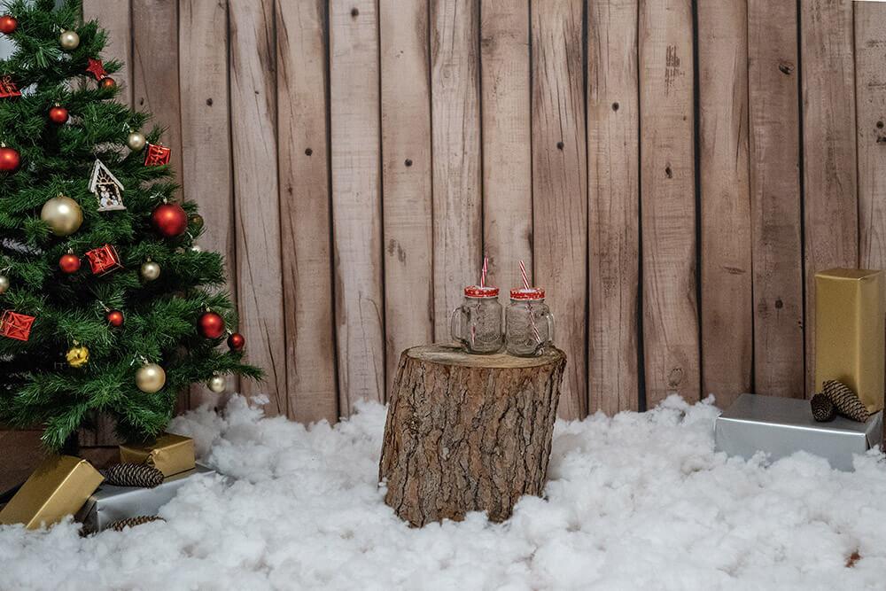 Material necesario para una sesión de navidad