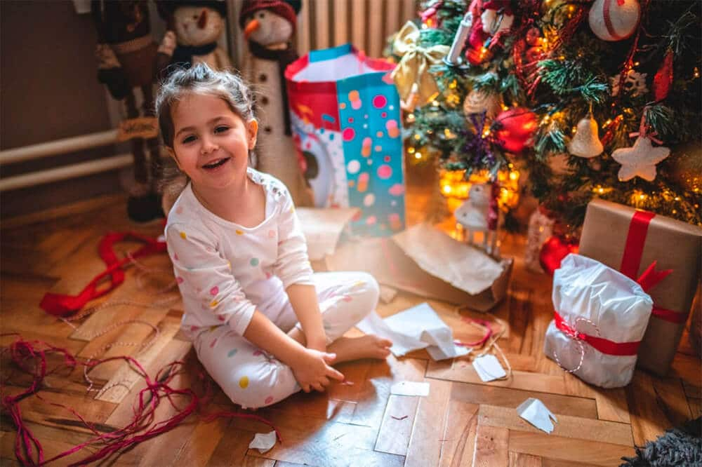 Reportaje navideño en Granollers