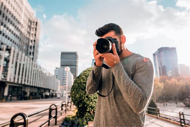 Escoger objetivo para cámara