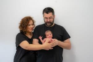 Sesión fotografía newborn Mollet