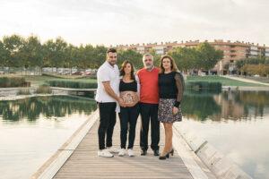 Reportaje fotográfico familia exterior