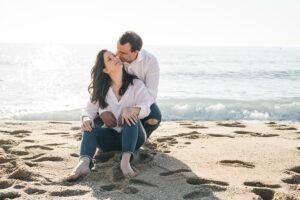 Reportaje fotográfico pareja playa