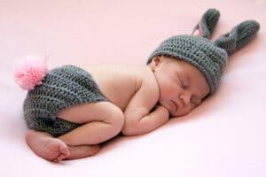 Sesión fotográfica bebe newborn Granollers