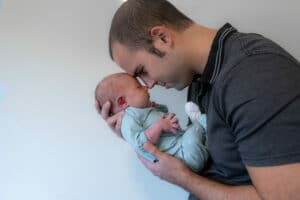 Sesión fotos bebe newborn Granollers