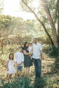 Sesión fotos en Familia