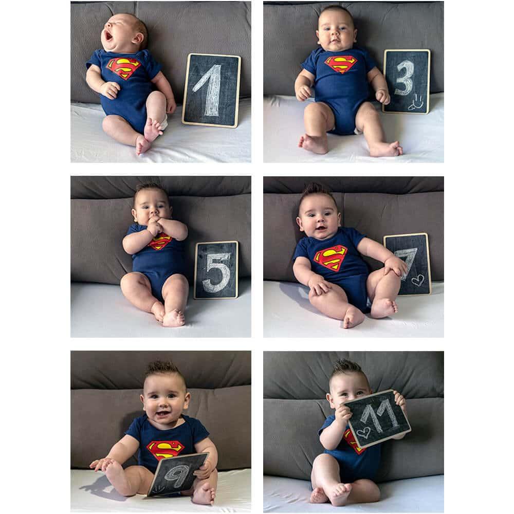 Seguimiento fotográfico primer año bebe