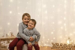 Sesión fotográfica Navidad 2020